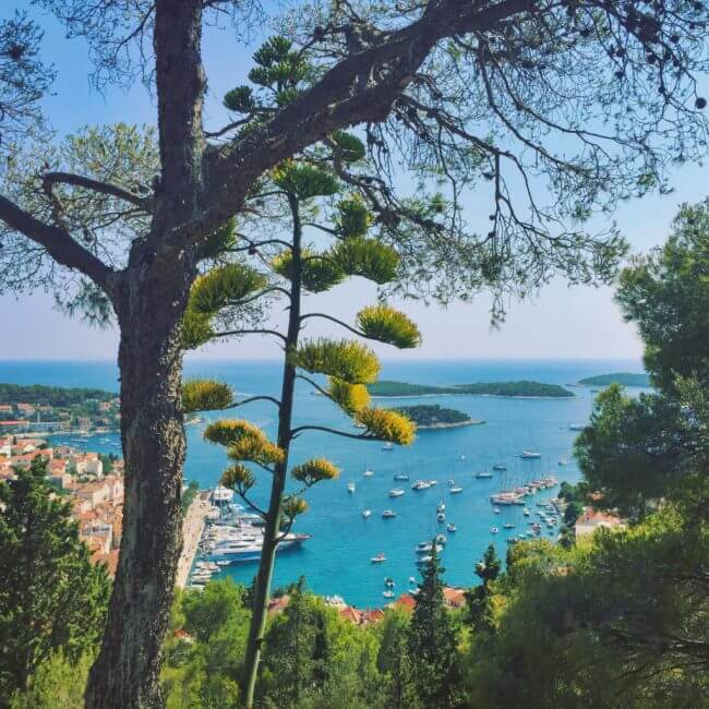 Spanjola fortress Guide to Hvar Island croatia