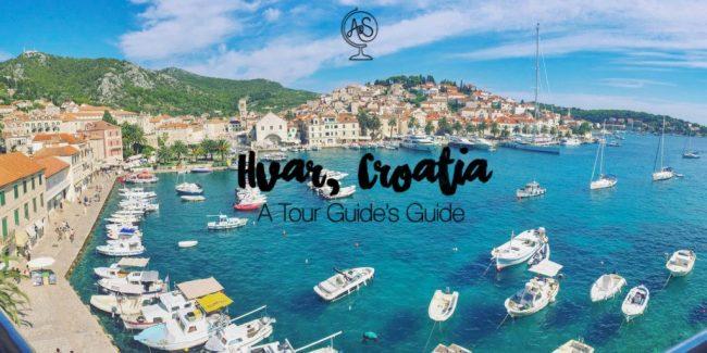 Tour Guide's Guide to Hvar, Croatia