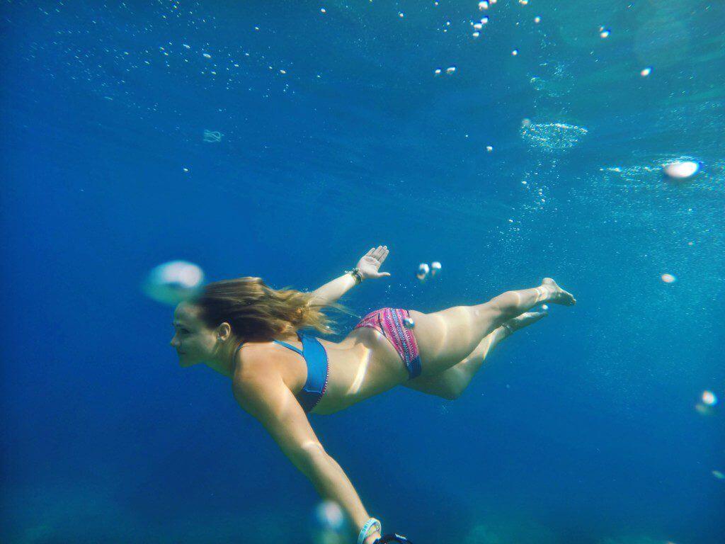 mermaid Sailing Croatia underwater