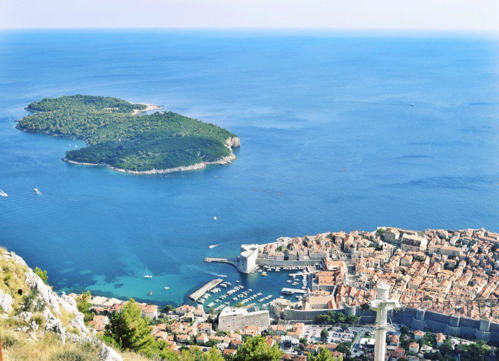 Dubrovnik Sailing Croatia View cable car