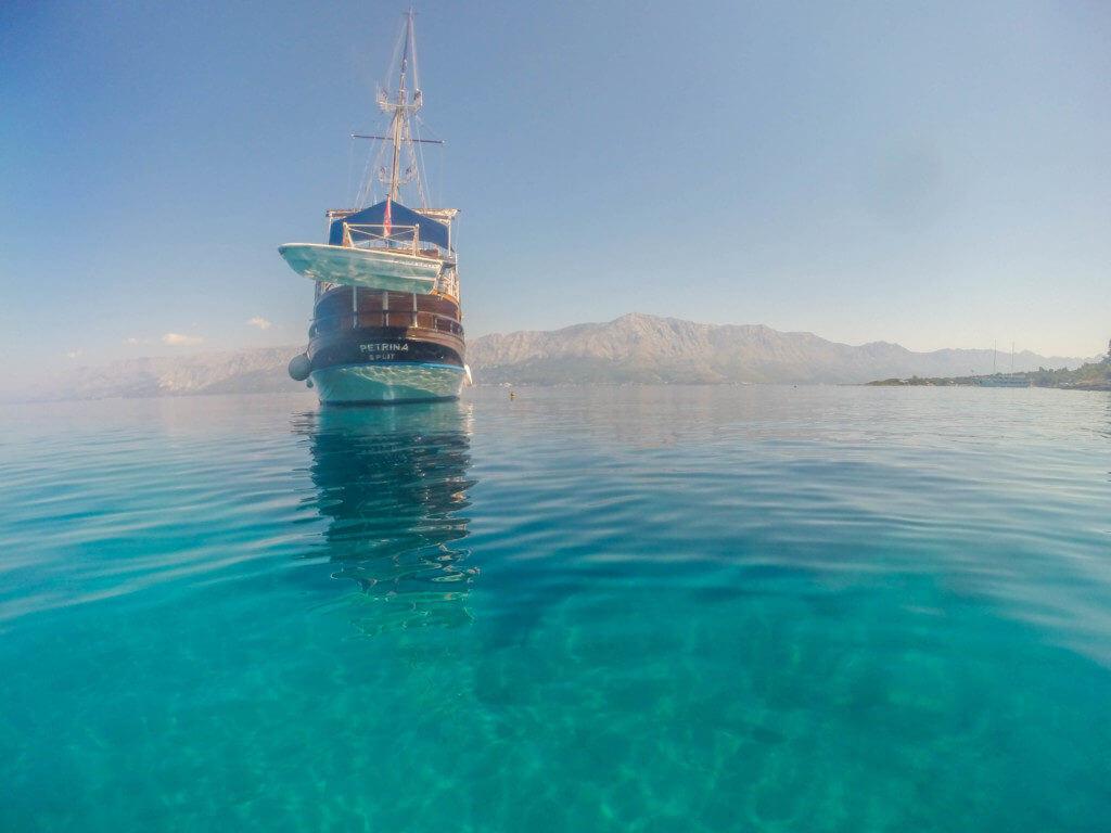 Sailing Croatia Wooden boat petrina tour guide's guide to croatia sailing tours ferries