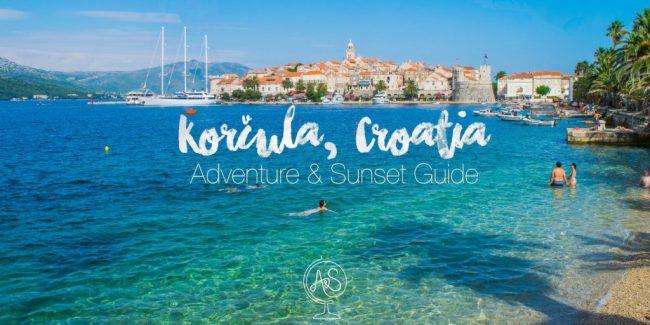 Korcula Croatia Guide adventures & sunsets guide to korcula croatia korcula island travel