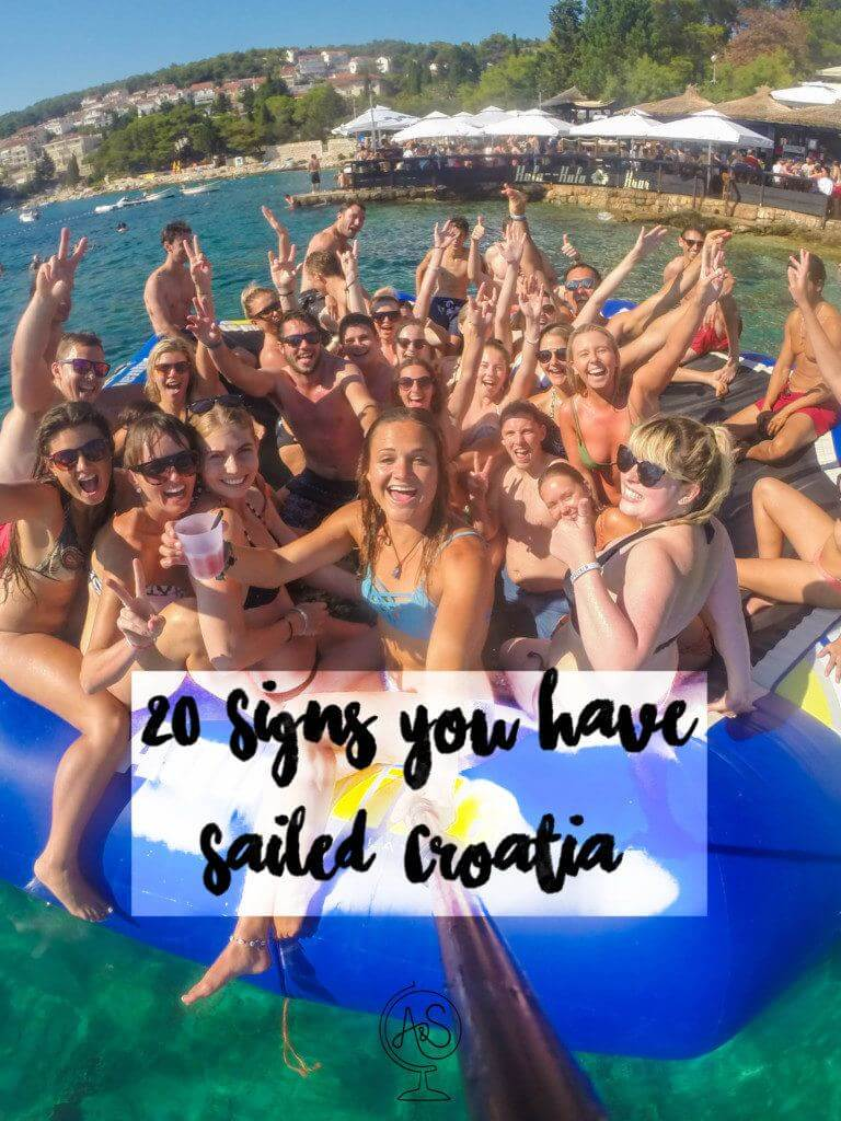 20 Signs you have sailed Croatia