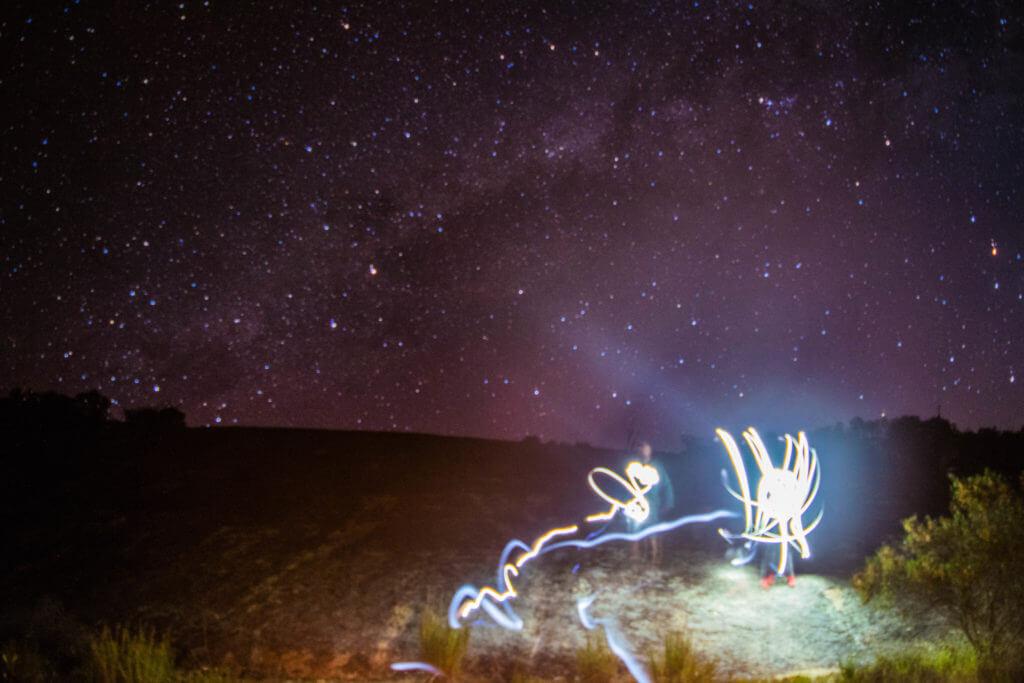 galaxy long exposure western australia