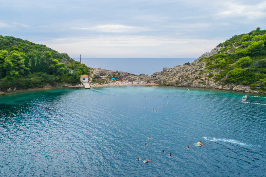 sipan elaphite islands dubrovnik croatia