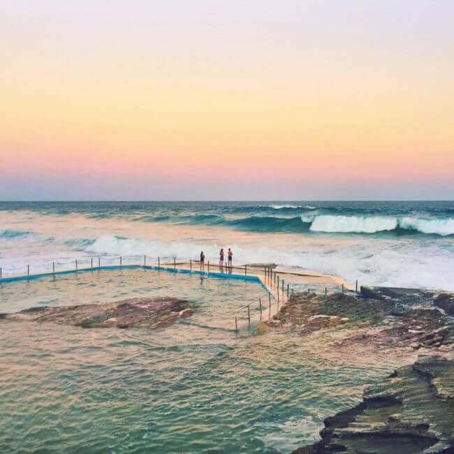 curl curl rock pool coastal walks in sydney