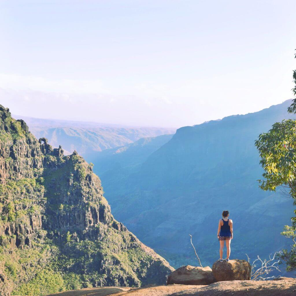 hike waimea canyon trail kauai guide