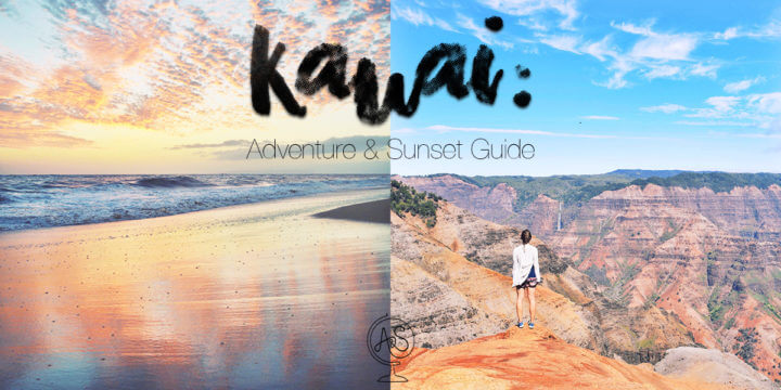Guide to Kauai: Adventures, Sunsets, Food, Beaches, and More!