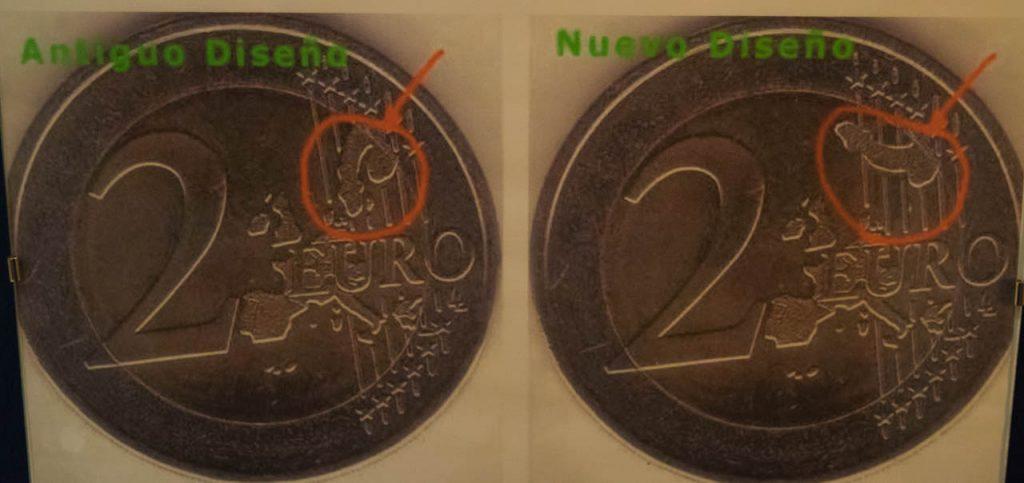 penis on 2 euro coin phallus
