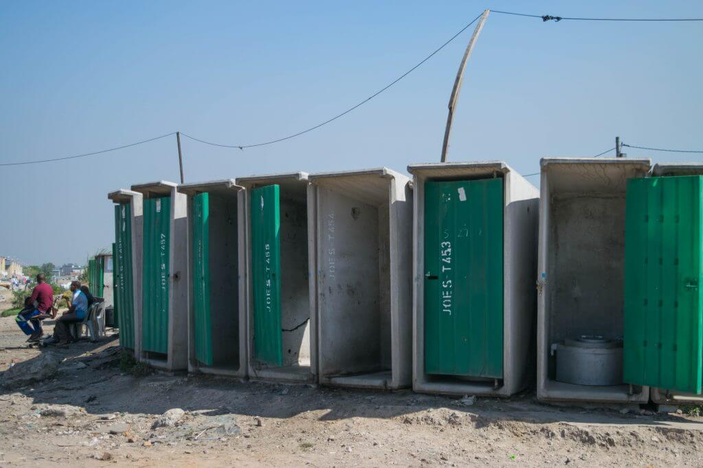 Visiting a township in cape town