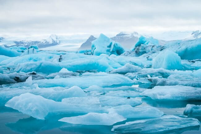 tips for saving money in iceland for the super budget backpacker glacier lake