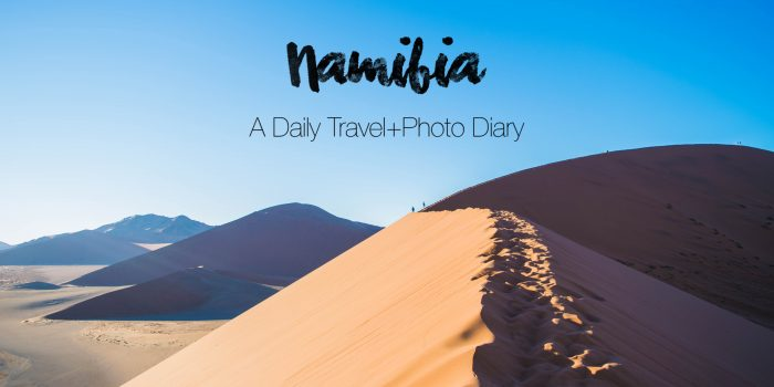 A Namibian Road Trip: African Adventure Daily Travel+Photo Journal