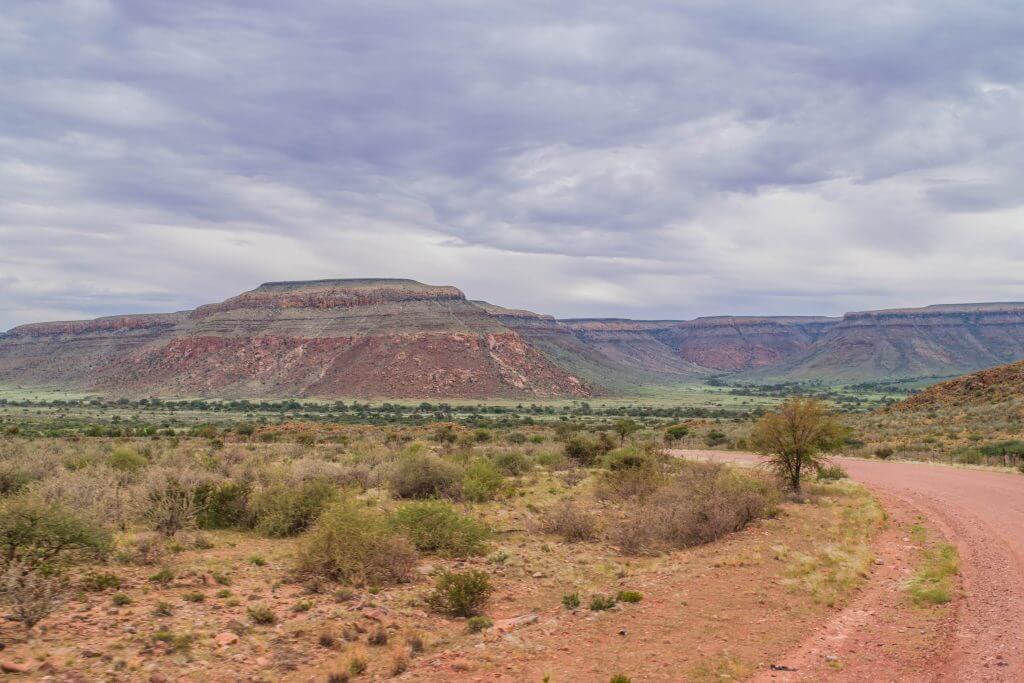 namibian road trip