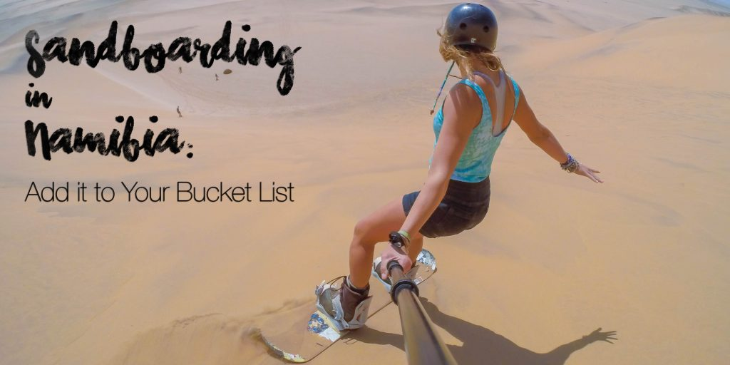 Swakopmund Activities: Sandboarding in Namibia (Add it to Your Bucket List) (Video)