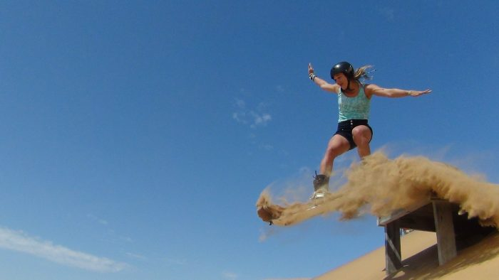 sandboarding in namibia swakopmund activities