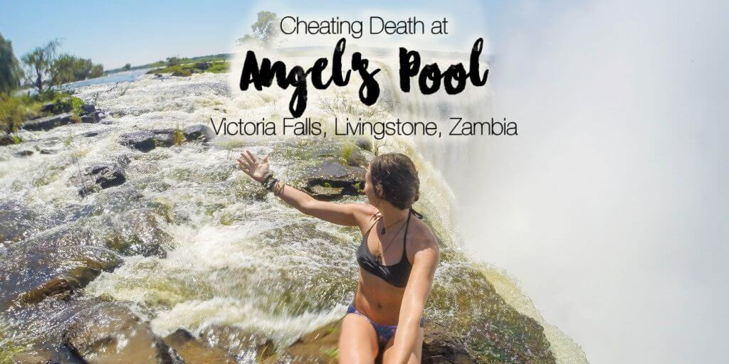 Cheating Death at Angel's Pool, Victoria Falls: Livingstone, Zambia (Video)