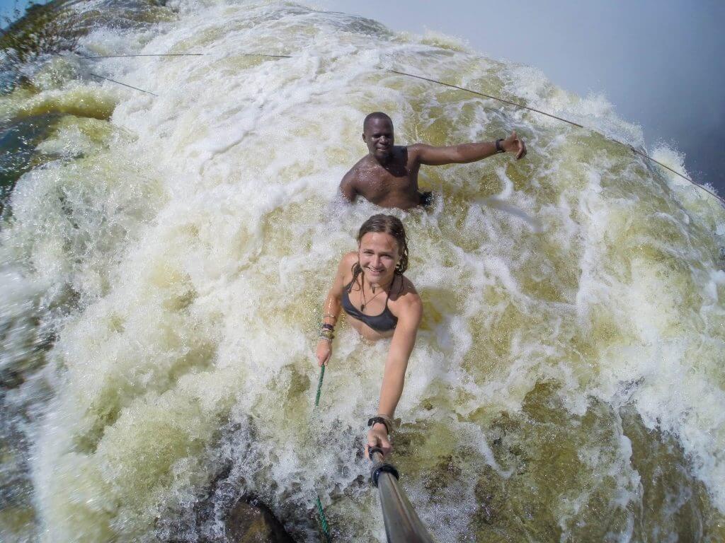 angel's pool victoria falls livingstone zambia