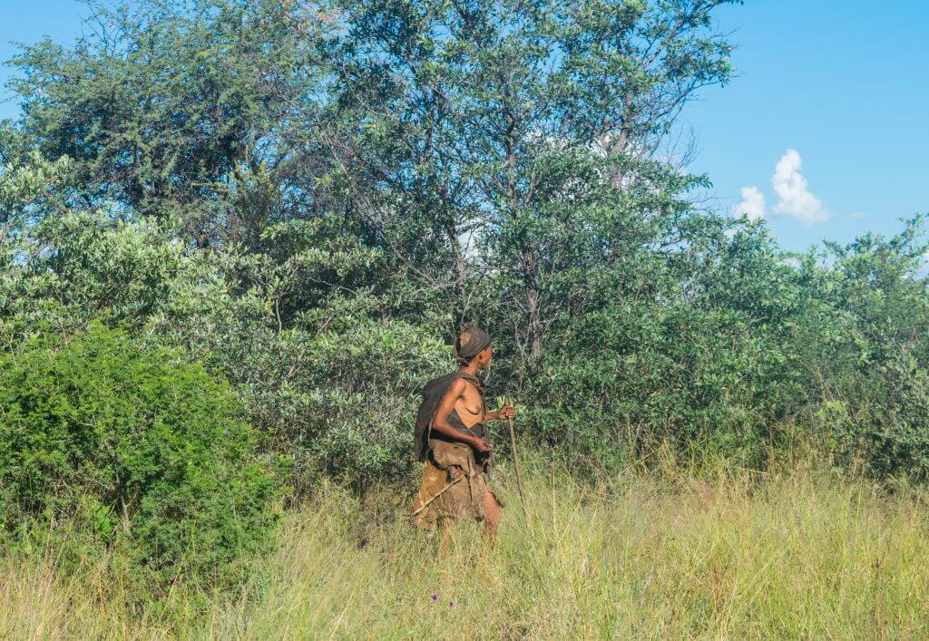 San Bushmen in Botswana