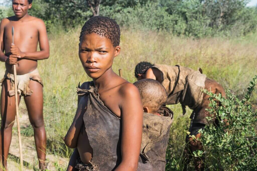 San people of botswana here