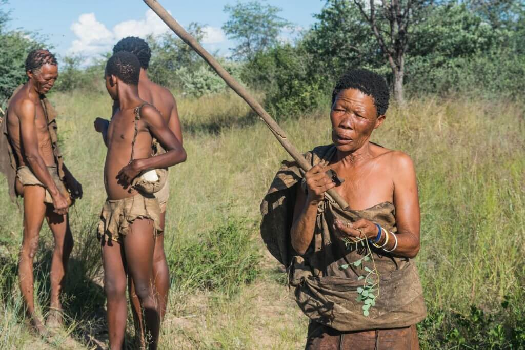 Not that San people of botswana join