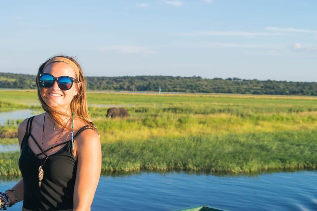 chobe national park botswana african adventure tour boat cruise kimmie coner adventures & sunsets travel blog