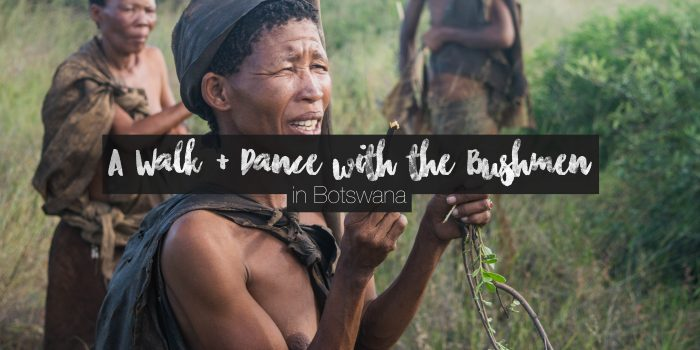 Experiencing the San Bushmen Culture and Lifestyle in Botswana