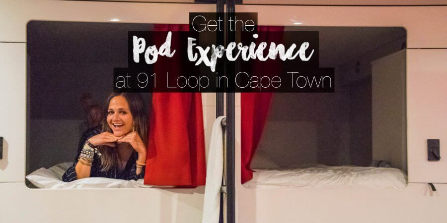 Get the Pod Experience at 91 Loop Hostel in Cape Town
