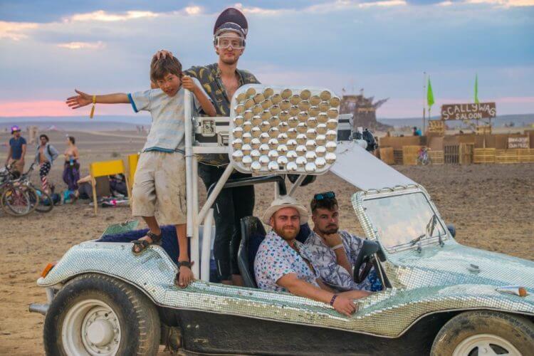 Afrikaburn 2017 moon buggy