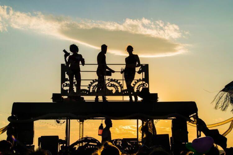 Afrikaburn 2017 portrait sunset silhouette