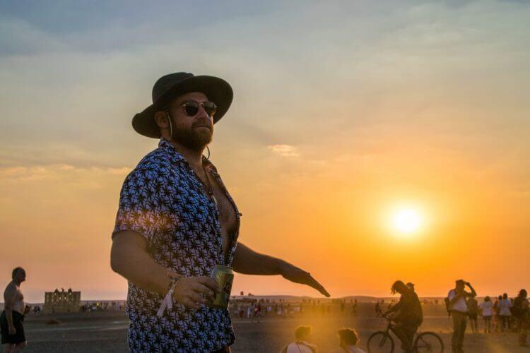 afrikaburn sunset tankwa karoo national park tankwa town josh meltz