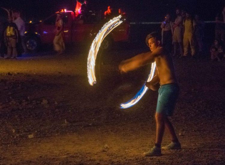 afrikaburn fire spinners