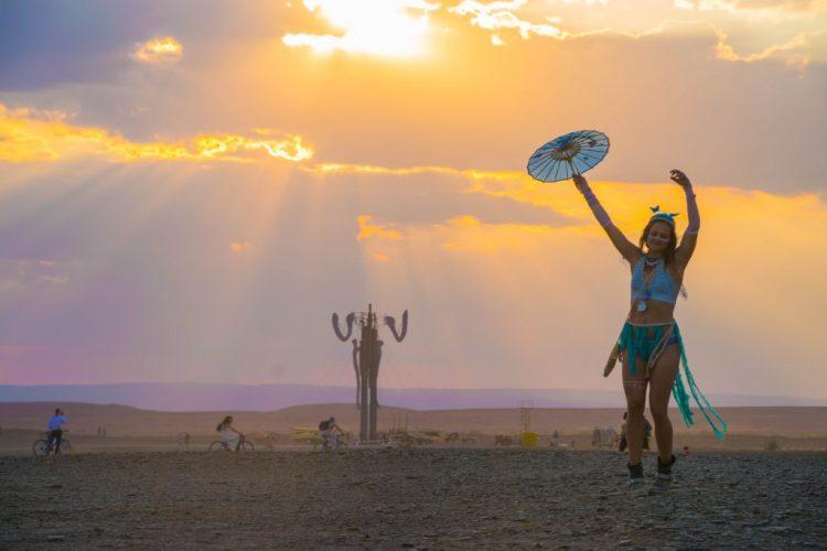 Afrikaburn sunset