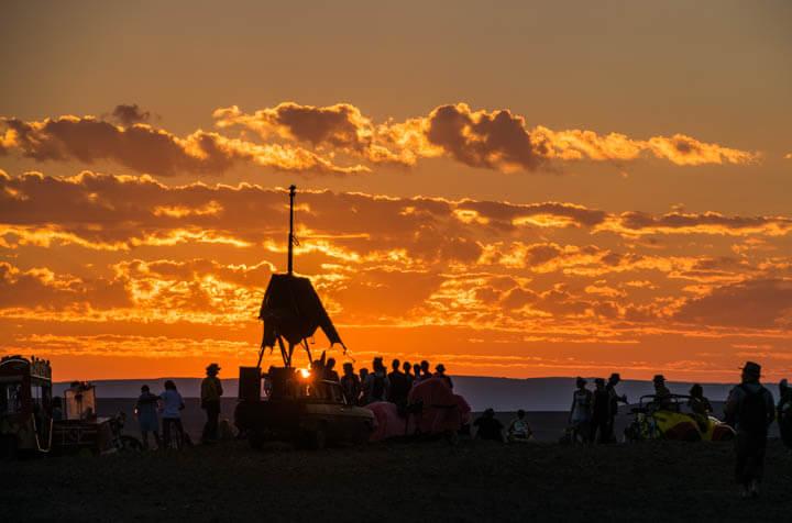 Afrikaburn 2017 sunset