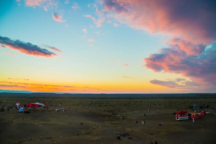 Afrikaburn 2017 sunset yggdrasil