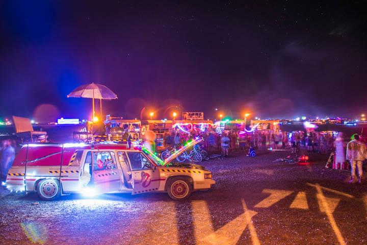 Afrikaburn 2017 night party