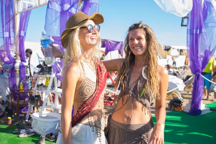 Afrikaburn 2017 pompeii theme camp