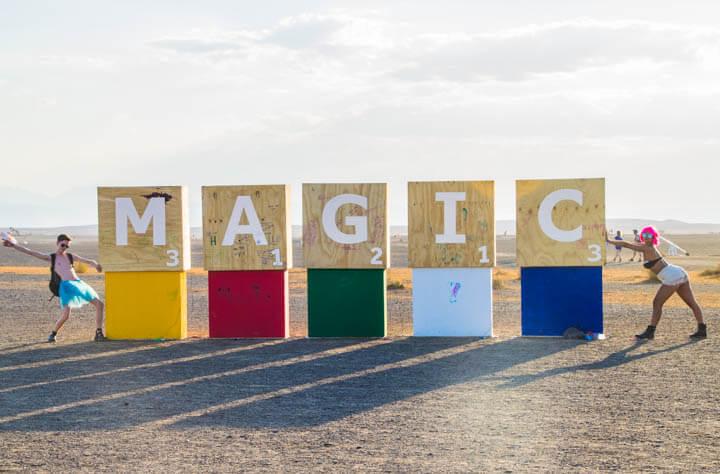 Afrikaburn 2017 binnekring magic