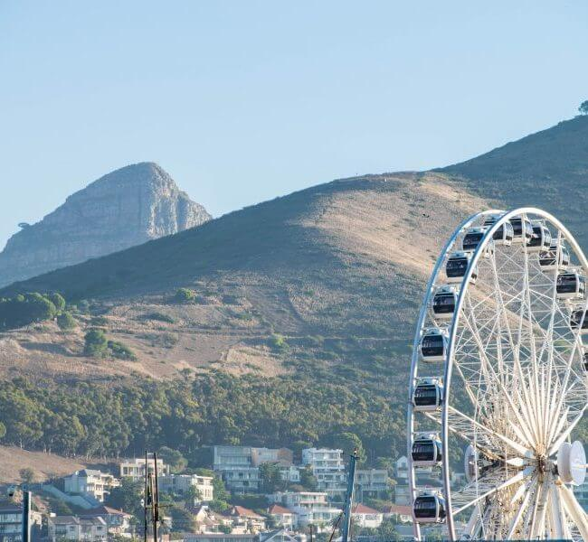 ferris wheel cape town