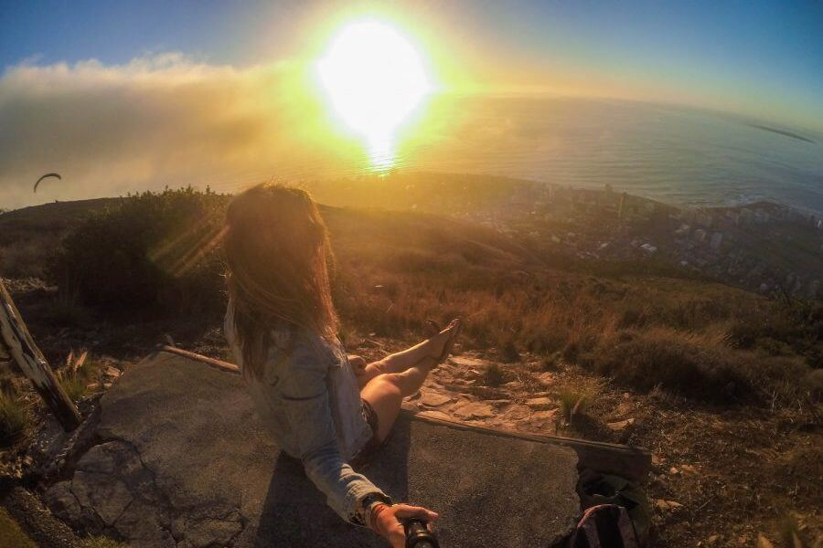 best sunsets in cape town signal hill go pro