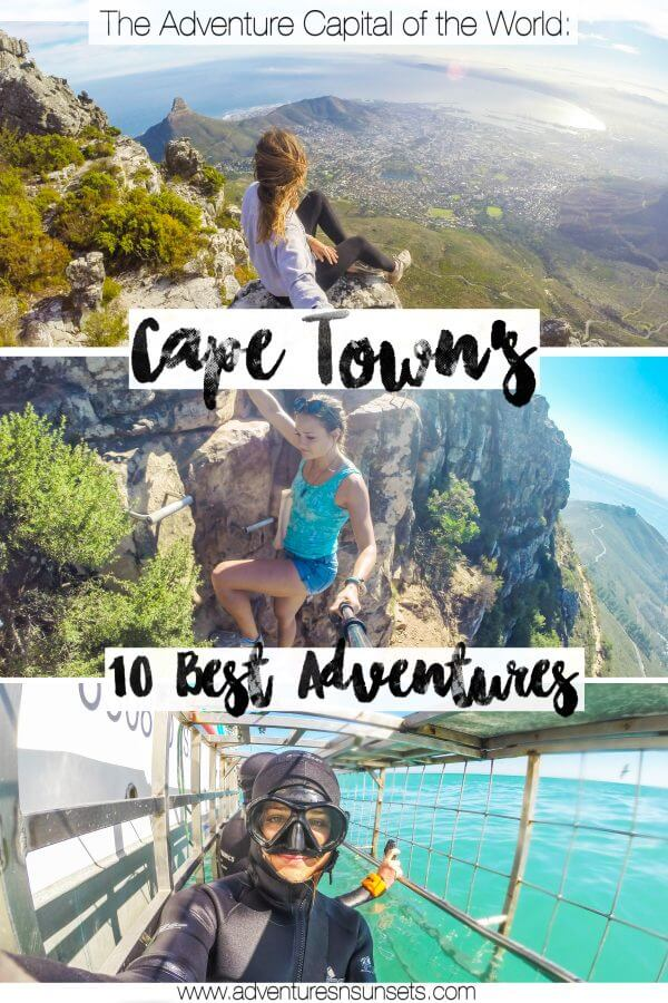 Cape Town is truly the adventure capital of the world, and here I have cureated a list of some of the best possible adventures to have there! (Including promo codes for some!)