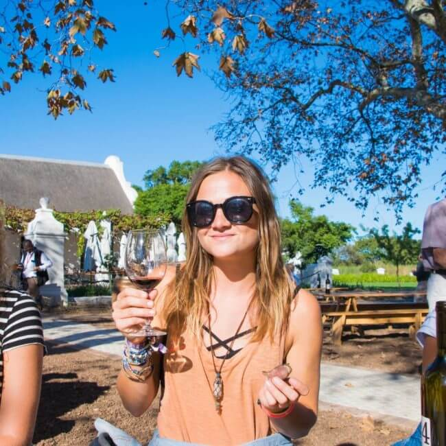 wine tasting in stellenbosch cape town adventure guide kimmie conner travel blogger