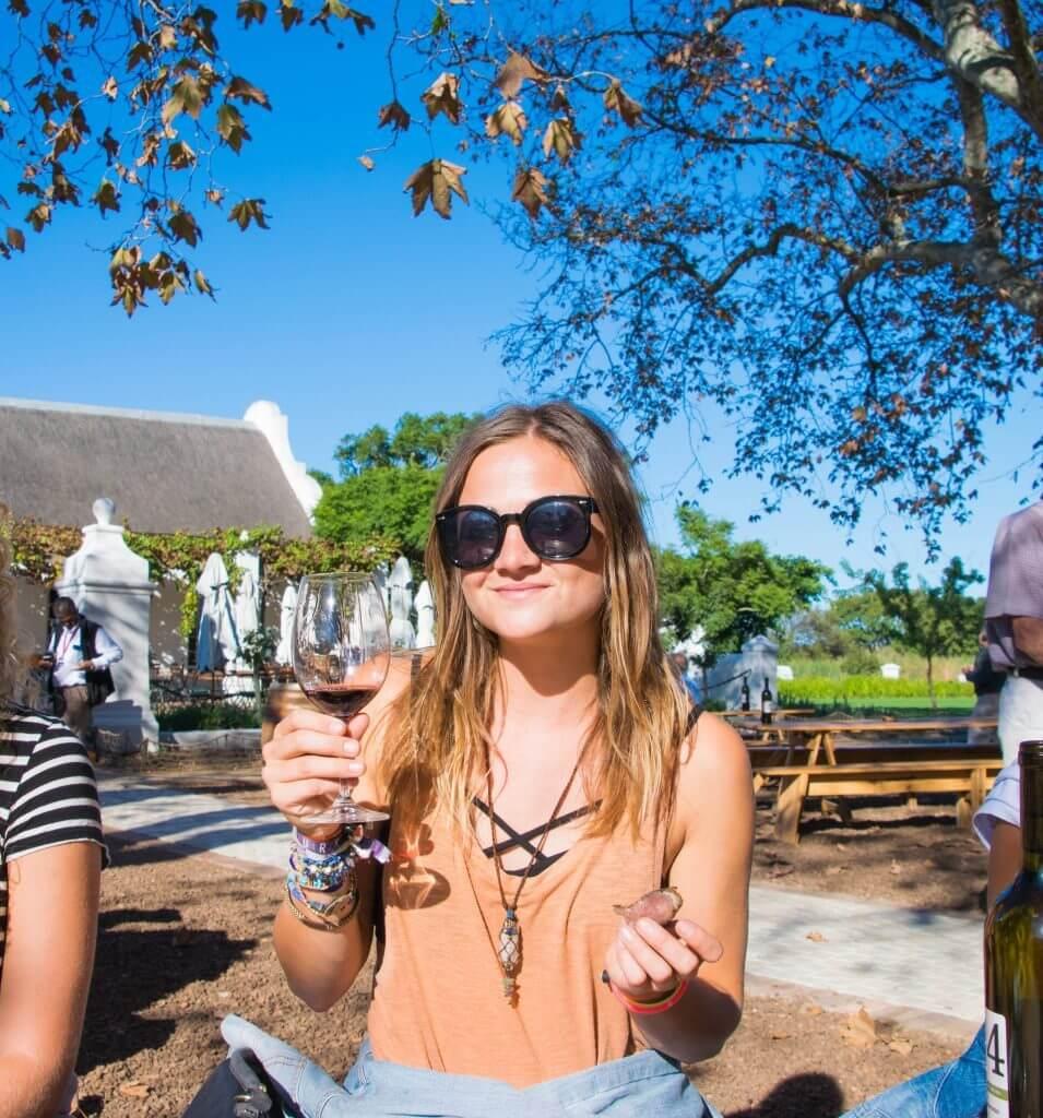 wine tasting in stellenbosch cape town adventure guide kimmie conner travel blogger