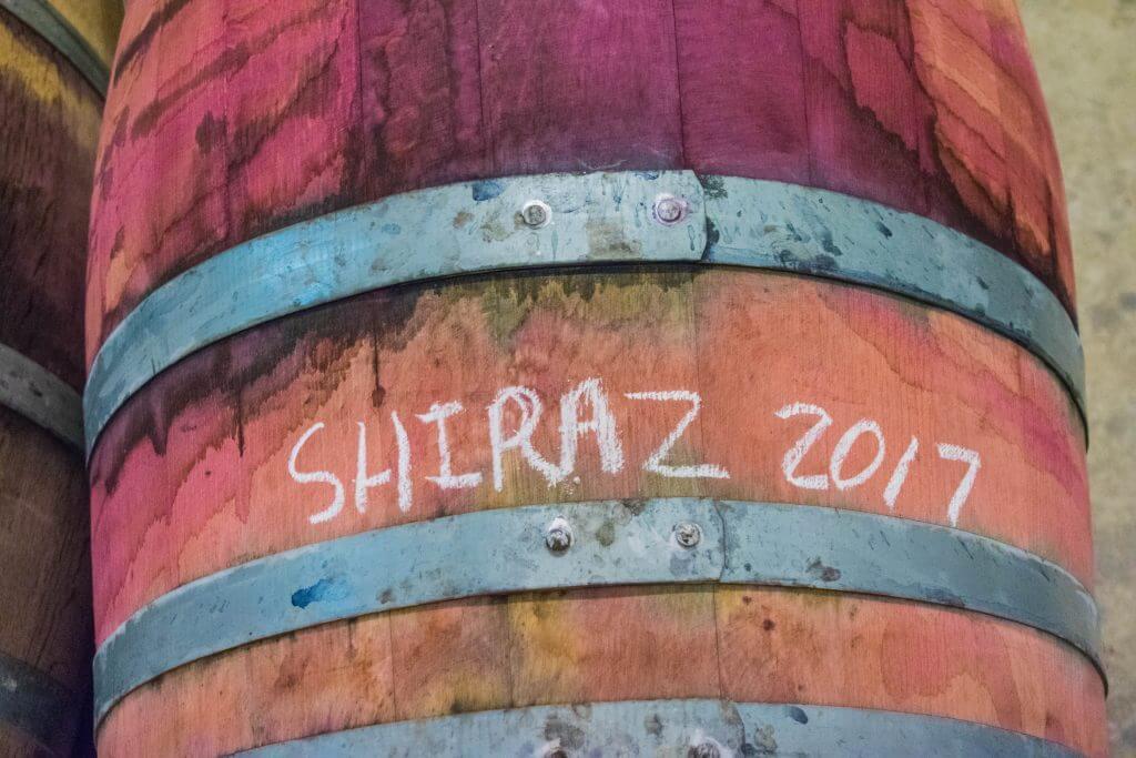 Wine Tasting in Cape Town Stellenbosch winery dogs shiraz oak