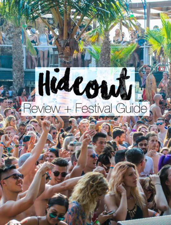 review + guide for hideout festival held at zrce