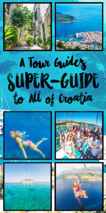 extensive guide to croatia travel
