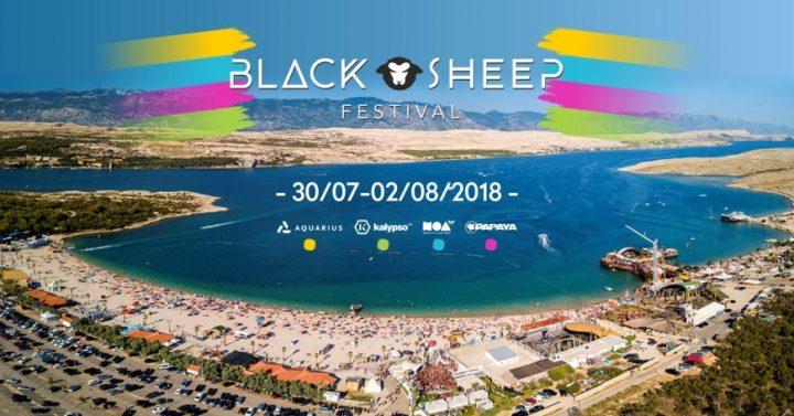 Black Sheep Festival Croatia Novalja 2018 Discount