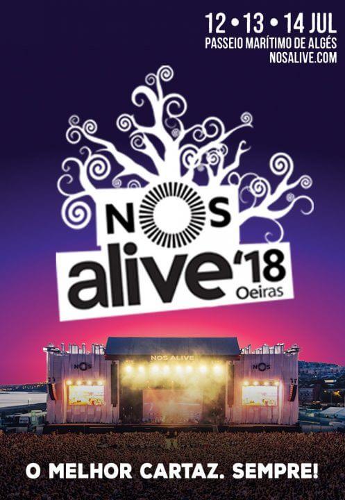 Nos Alive festival 2018 promotion tickets