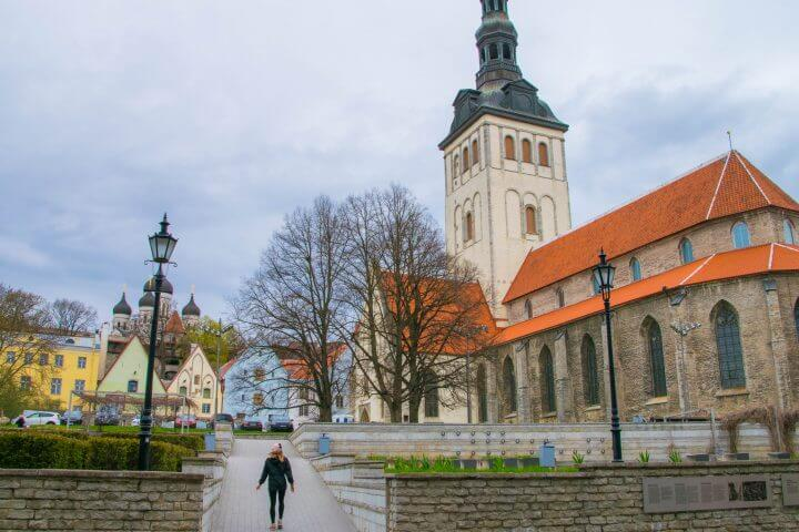 Tallinn, Estonia is a bit more of an off-the-beaten-track capital to visit while backpacking Europe, but if you can spend at least one day in Estonia you must visit Tallinn Old Town.