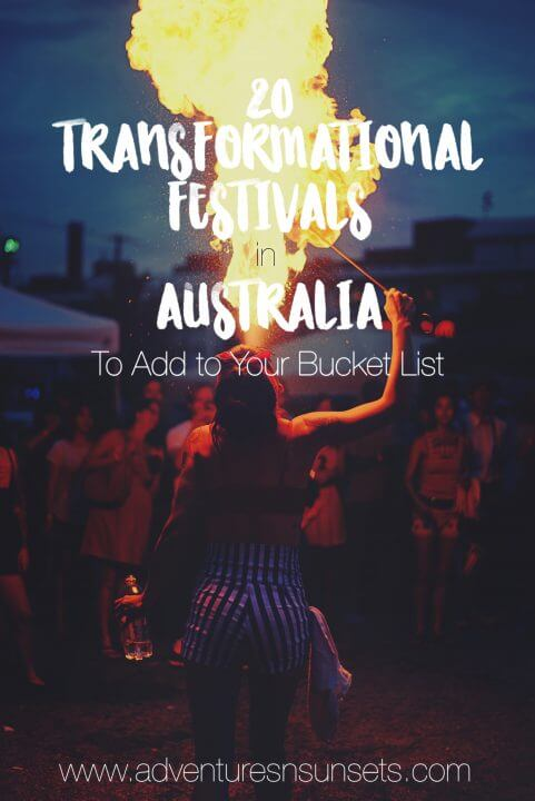 Transformational FEstivals in Australia to add to your bucket list - bush doofs, music + art festivals, psytrance gatherings, and more! All community-based, focused on sustainability, workshops, art, and mindfulness as well as music, and good vibes only!