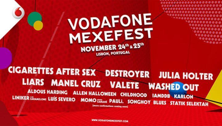 Vodaphone Mexfest discount code 2017